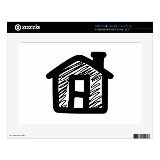 House Small Netbook Decals