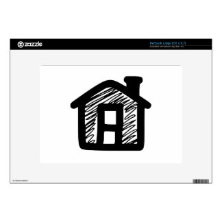 House Large Netbook Decal