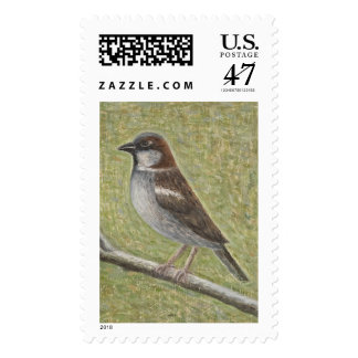 House Sparrow 2008 Postage Stamp