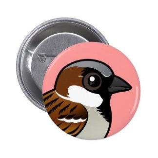 House Sparrow Pin