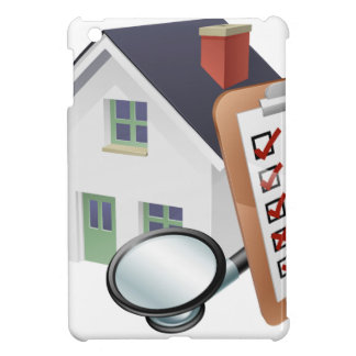 House Stethoscope and Survey Clipboard Concept Cover For The iPad Mini