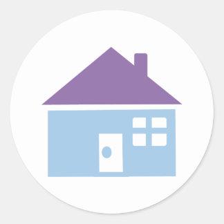 House Classic Round Sticker