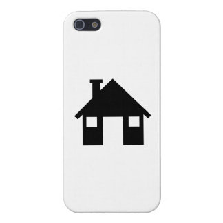 House symbol cover for iPhone 5