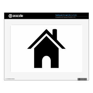 House Symbol Decal For Small Netbook