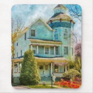 House - The lookout Mouse Pad