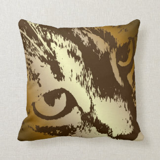 House Tiger Throw Pillow