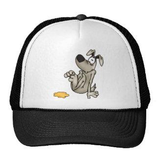 House-training A Cartoon Dog Trucker Hat