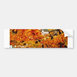 House Tree Bumper Sticker