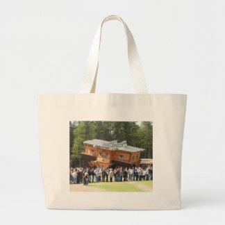 House Upside-Down Canvas Bag