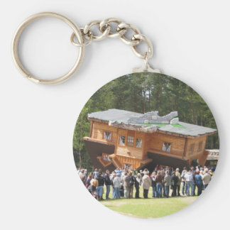 House Upside-Down Keychains