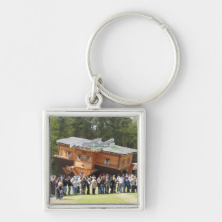House Upside-Down Key Chains