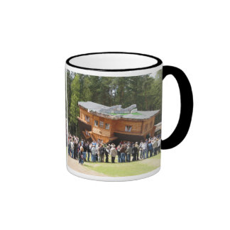 House Upside-Down Ringer Coffee Mug