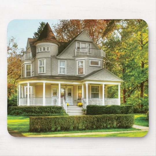 House - Victorian Dream House Mouse Pad