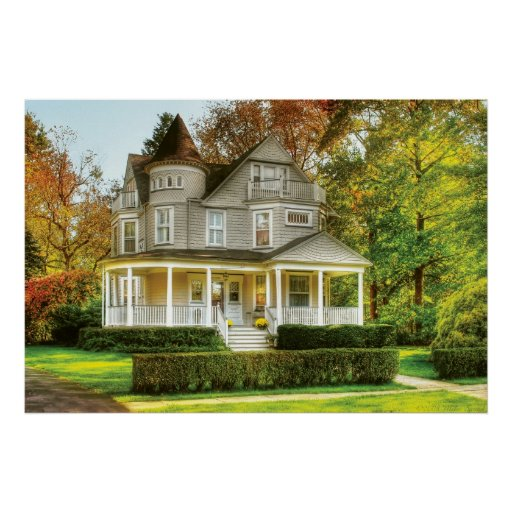 House - Victorian Dream House Poster