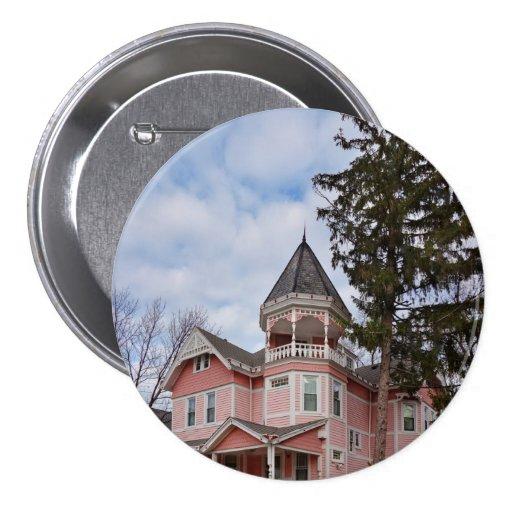 House - Victorian - Flemington, NJ - The Pink Lady Pins