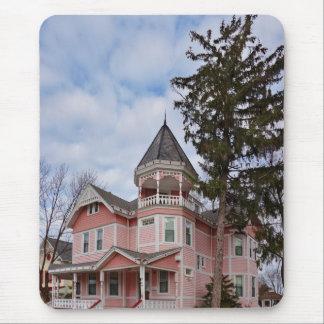 House - Victorian - Flemington, NJ - The Pink Lady Mouse Pad