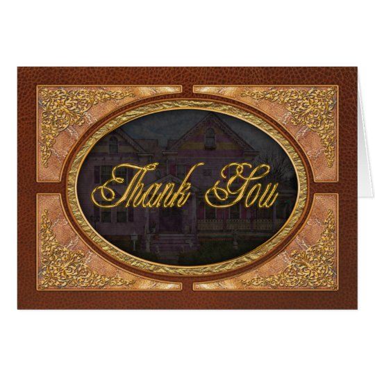 House - Victorian - I love bright colors Card