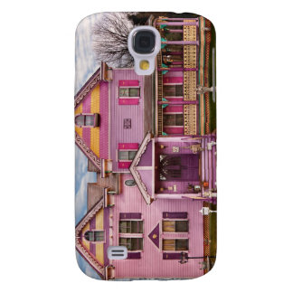 House - Victorian - I love bright colors Galaxy S4 Covers