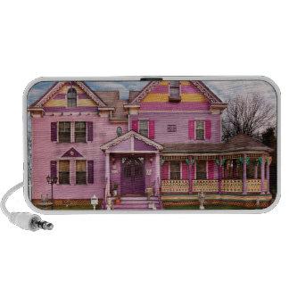 House - Victorian - I love bright colors Mini Speakers