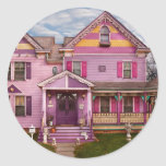 House - Victorian - I love bright colors Stickers
