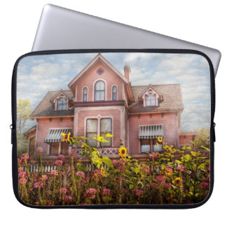 House - Victorian - Summer Cottage  Computer Sleeve