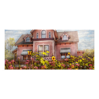 House - Victorian - Summer Cottage  Custom Rack Cards