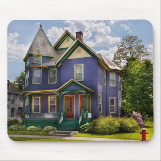 House - Victorian - The old ladies house Mouse Pad