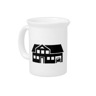 House villa car drink pitcher