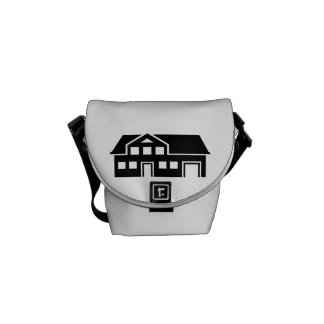 House villa courier bag