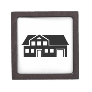 House villa jewelry box