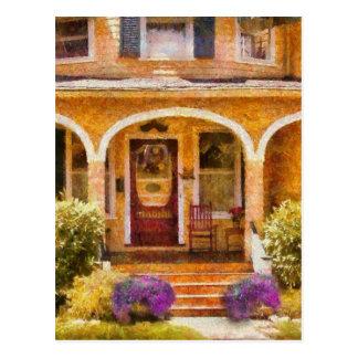 House - Visiting Grandma Post Cards