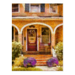 House - Visiting Grandma Postcard