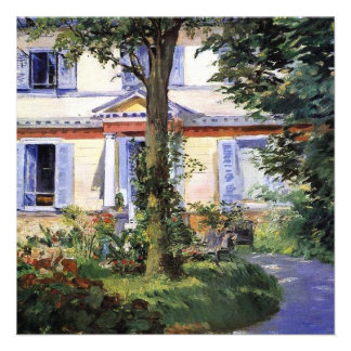 House Warming by Manet Invitation