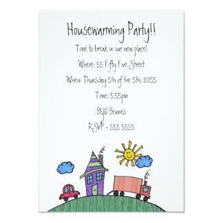"House Warming Moving Party Invite Invitation 4.5"" X 6.25"" Invitation Card"
