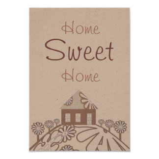 House warming Party 3.5x5 Paper Invitation Card