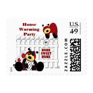 House Warming Party Postage