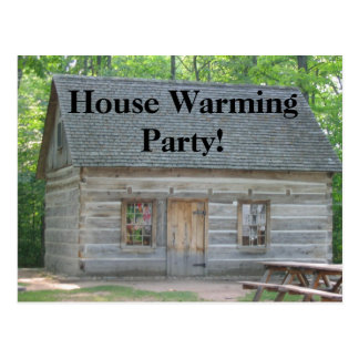 House Warming Party! Postcard