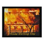 House Warming Time Custom Invitation