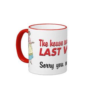 House Was Clean Mug