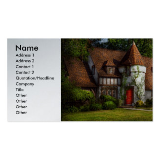 House - Westfield, NJ - Fit for a king Double-Sided Standard Business Cards (Pack Of 100)