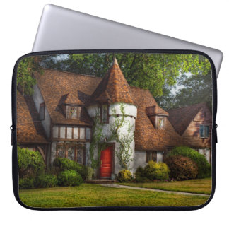 House - Westfield, NJ - Fit for a king Laptop Sleeves