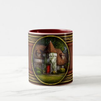 House - Westfield, NJ - Fit for a king Two-Tone Coffee Mug