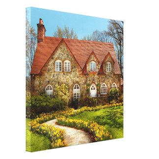 House - Westfield NJ - The estates Canvas Prints