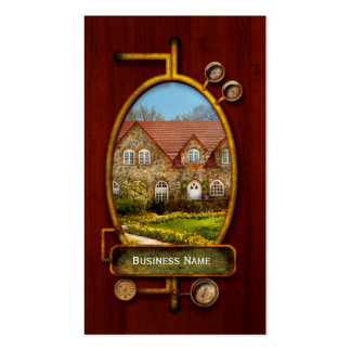 House - Westfield NJ - The estates .jpg Double-Sided Standard Business Cards (Pack Of 100)