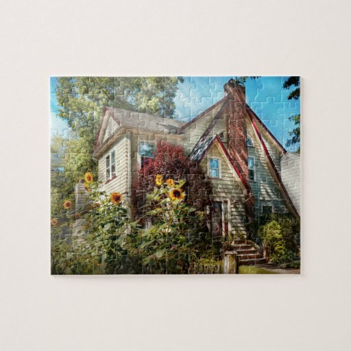 House - Westfield, NJ - The summer retreat Jigsaw Puzzles