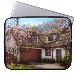 House - Westfield NJ - Who doesn't love spring Laptop Computer Sleeves