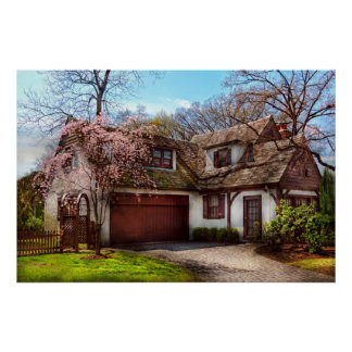 House - Westfield NJ - Who doesn't love spring Poster