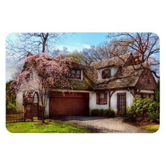 House - Westfield NJ - Who doesn't love spring Vinyl Magnets
