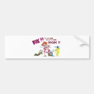 House Wife Car Bumper Sticker