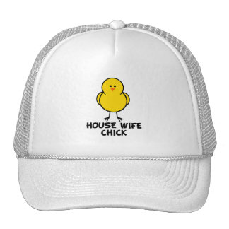 House Wife Chick Trucker Hats
